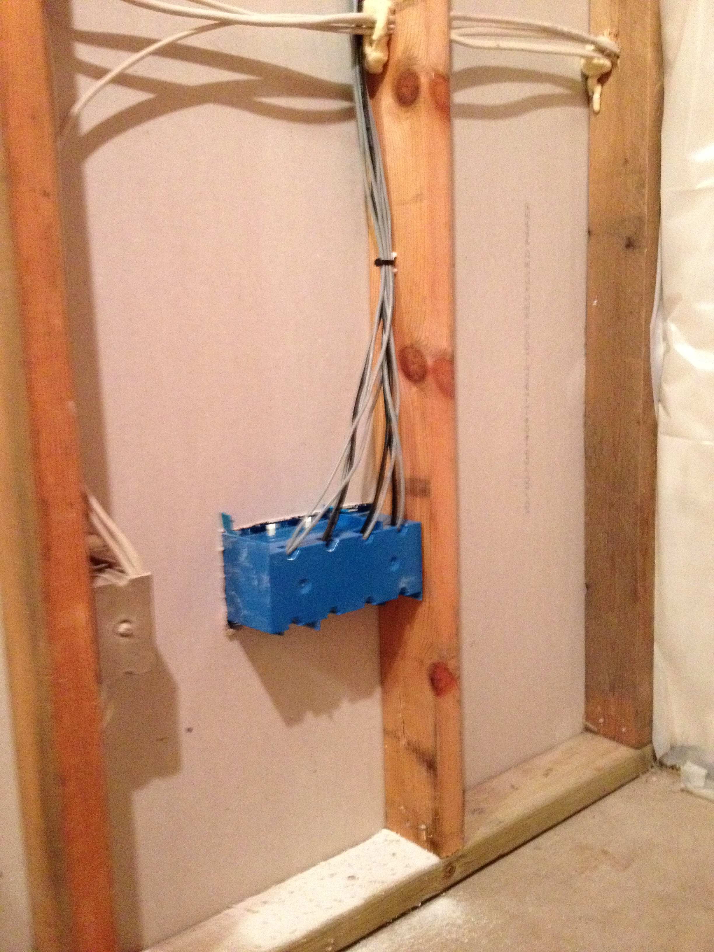 Wiring Surround Speakers In Wall